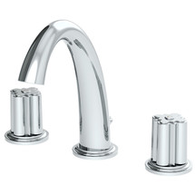 Symmons (SLW-0600-12-1.0-TRM) Extended Selection Two Handle Widespread Lavatory Faucet