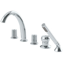 Symmons (SRT-0600-72-TRM) Extended Selection Two Handle Roman Tub Faucet
