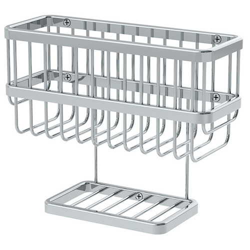 Symmons (0806-SB) Extended Selection Dual Shelf Soap Basket
