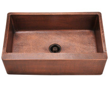 Polaris P319 Single Bowl Copper Apron Sink