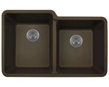 Polaris P108M Double Offset Bowl AstraGranite Sink