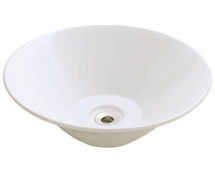 Polaris P022VB Porcelain Vessel Sink
