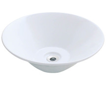 Polaris P022VW Porcelain Vessel Sink