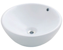 Polaris P0022VW Porcelain Vessel Sink