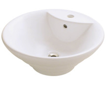 Polaris P002VB Porcelain Vessel Sink