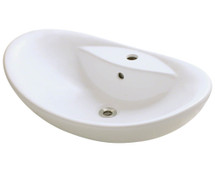 Polaris P012VB Porcelain Vessel Sink