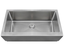 Polaris P504 Single Bowl Stainless Steel Apron Sink