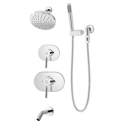 Symmons (4306-TRM) Sereno Tub/Shower/Hand Shower System
