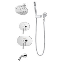Symmons (4306-TRM) Sereno Tub/Shower/Hand Shower System