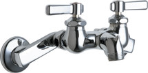 Chicago Faucets (305-CP) Hot and Cold Water Sink Faucet