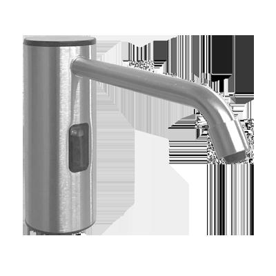 ASI (10-0334-S) Auto Soap Dispenser - Liquid - Battery/AC - Satin Stainless Steel - 50.7 oz. - Vanity Mounted