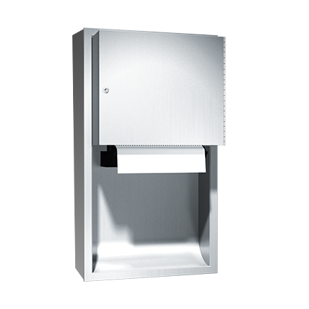 ASI (10-045224AC-9) Traditional - Auto Paper Towel Dispenser - Roll - (110-240V) - Surface Mounted