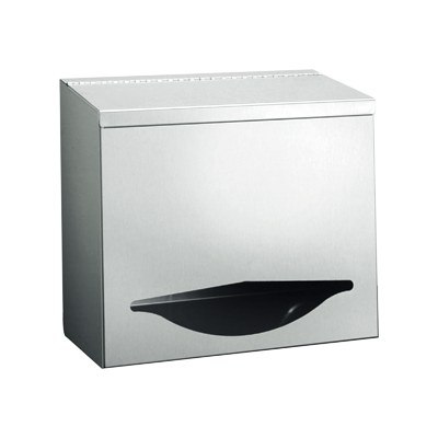 ASI (10-0511) Bulk Disposables Dispenser - Small - Surface Mounted