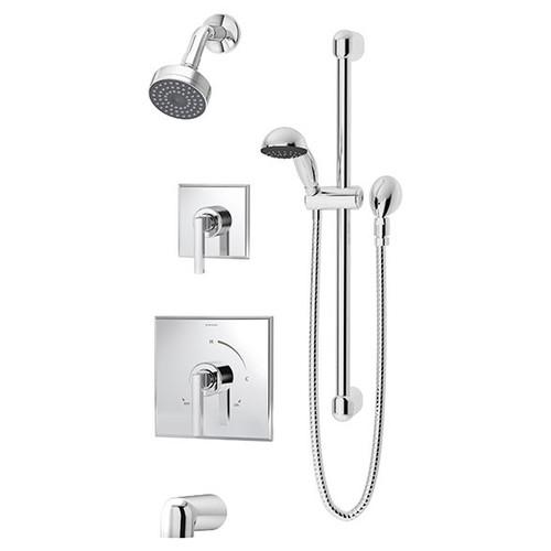 Symmons (3606-H321-V-TRM) Duro Tub/Shower/Hand Shower System Valve Trim