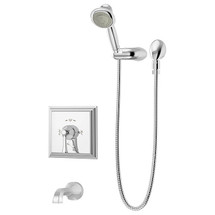 Symmons (S-4504-TRM) Canterbury Tub/Hand Shower System Valve Trim with Secondary Integral Diverter