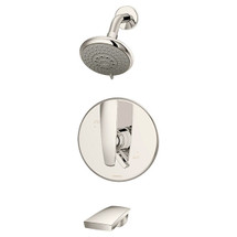 Symmons (S-4102-TRM-PNL)  DS Creations Tub/Shower System Valve Trim with Secondary Integral Diverter