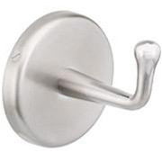 Brey Krause (B-5021-SC) Hook - Concealed Mount, Satin Chrome Finish