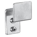 Brey Krause (S-5036-SS) Hook - Stainless Steel Exposed Mount