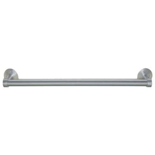 Brey Krause (D-6010-24-SS) Heavy Duty Towel Bar - 24 inches, Satin Stainless Finish