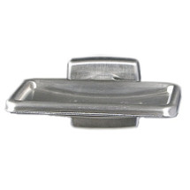Brey Krause (S-4910-BS) Soap Dish with Drain, Bright Stainless Finish