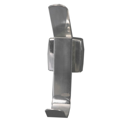 Brey Krause (S-4935-BS) Hat and Coat Hook, Bright Stainless Finish