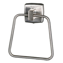 Brey Krause (S-4944-SS) Towel Ring, Satin Stainless Finish