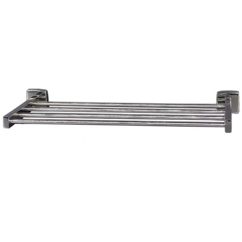 """Brey Krause (S-4972-18-BS) Towel Supply Shelf- without bar, 18"""", Bright Stainless Finish"""
