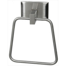 Brey Krause (S-4544-SS) Towel Ring, Satin Stainless Finish