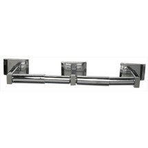 Brey Krause (S-4558-SS) Double Paper Holder, Satin Stainless Finish