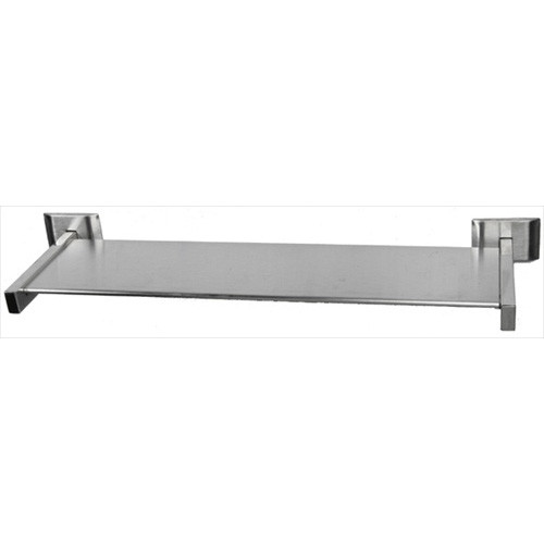 "Brey Krause (S-4573-24-BS) Utility Shelf - 24"", Bright Stainless Finish"