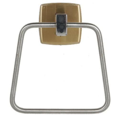 Brey Krause (S-4844-BB) Towel Ring, Bright Brass Finish