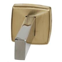 Brey Krause (S-4848-BB) Towel Pin, Bright Brass Finish