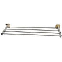 "Brey Krause (S-4872-24-BB) Towel Supply Shelf - without Bar- 24"", Bright Brass Finish"