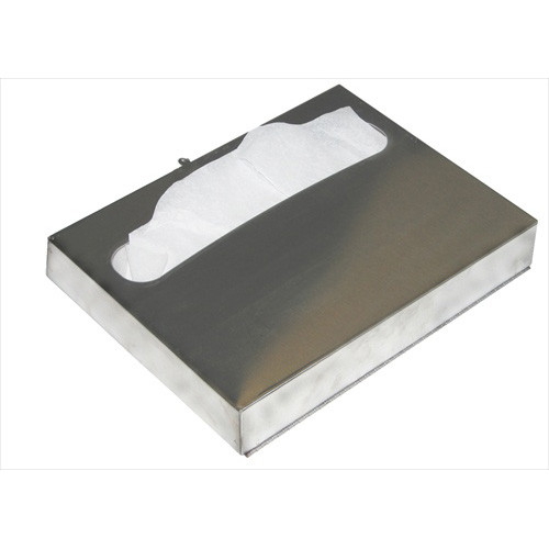 Brey Krause (C-1031-SS) Seat Cover Dispenser - Surface Mounted, Satin Stainless Finish