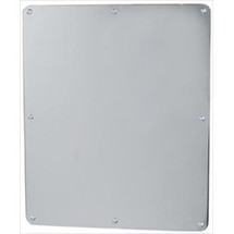 """Brey Krause (T-8010-03-BS) Security Mirror - Frameless Exposed Mounting, 18"""" X 24"""""""