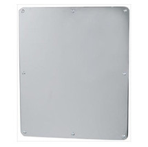 """Brey Krause (T-8010-05-BS) Security Mirror - One Piece, Frameless Exposed Mounting, 18"""" X 30"""""""