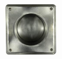 Brey Krause (S-4080-SS) Recessed Toilet Paper Holder - Exposed Mount, Satin Stainless Finish