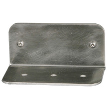 Brey Krause (S-4010-SS) Vandal Resistant Heavy Duty Soap Dish - Exposed Mount, Satin Stainless Finish
