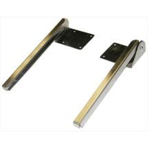 Brey Krause (T-1050-SS) Adjustable Tilt Frame Mirror Brackets