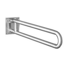 "Brey Krause (D-3411-77-SS) Grab Bar - Swing Away with Sliding Lock Mechanism, 30"" Length, 1¼"" Diameter, Satin Stainless Finish"