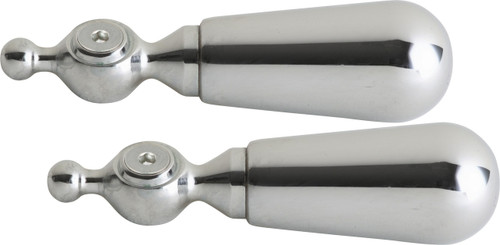 """Chicago Faucets (374-PLPRJKCP) 3-3/4"""" Lever Handle, Eight-Point Tapered Broach"""