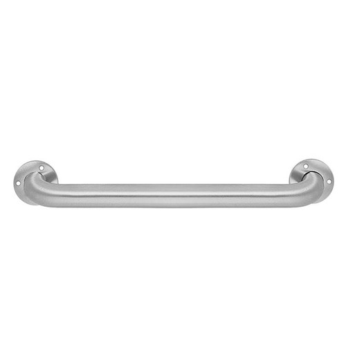 "Brey Krause (D-4421-BS) Grab Bar - 1"" Diameter, 30"" L, Straight, Exposed Mount, Bright Stainless Finish"