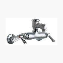 Chicago Faucets (305-VBRXKRCF) Hot and Cold Water Sink Faucet