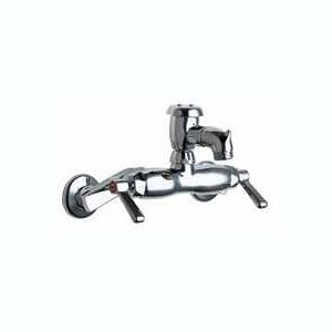 Chicago Faucets (305-VBVPHCP) Hot and Cold Water Sink Faucet