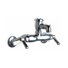 Chicago Faucets (305-VBXKCP) Hot and Cold Water Sink Faucet