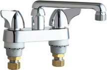 Chicago Faucets (1891-E2CP) Hot and Cold Water Sink Faucet