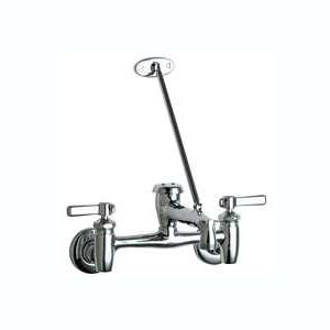 Chicago Faucets (897-MPCP) Hot and Cold Water Sink Faucet - Master Pack of 8