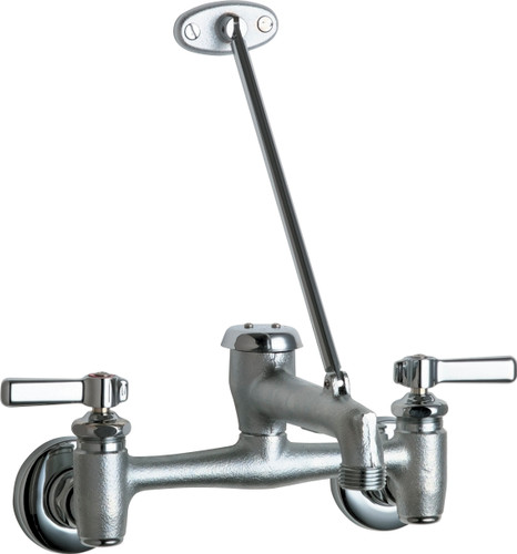 Chicago Faucets (897-MPRCF) Hot and Cold Water Sink Faucet - Master Pack of 8