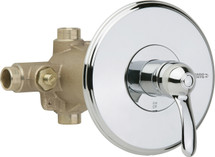 Chicago Faucets (1905-VOCCP) Thermostatic Pressure Balancing Tub and Shower Valve with Trim