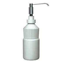 "ASI (10-0336) Manual Foam Soap Dispenser, 4"" Spout, Stainless Steel, 34 oz, Vanity Mounted"
